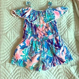 Girls 6/7 Lilly Pulitzer romper